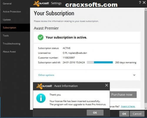 Avast Premier Antivirus 2019 Activation Code