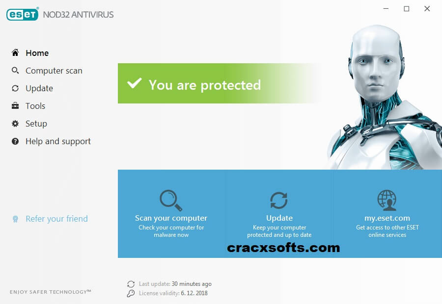ESET NOD32 Antivirus 2020 License Key