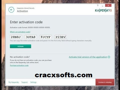 Kaspersky Internet Security 2019 Activation Code