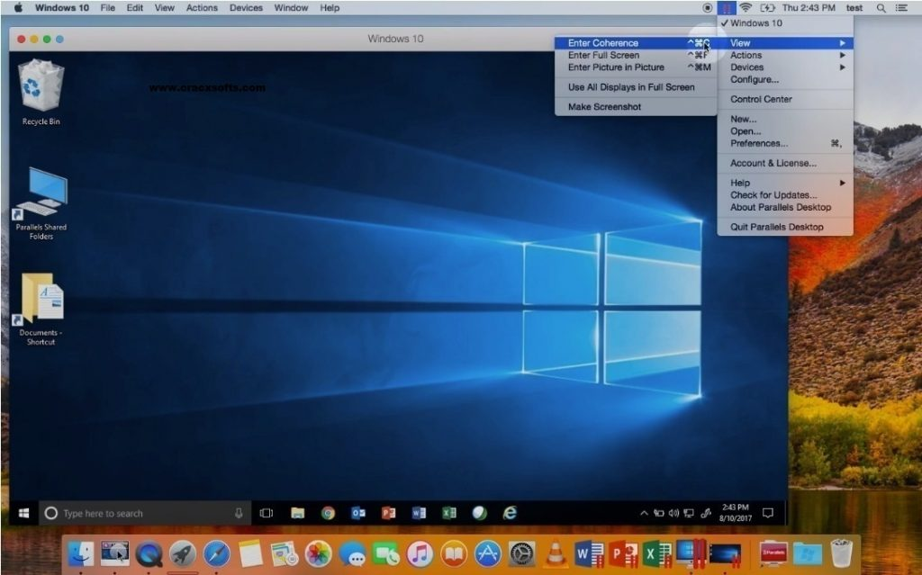 Parallels Desktop 14.1.2 Activation Key 2019