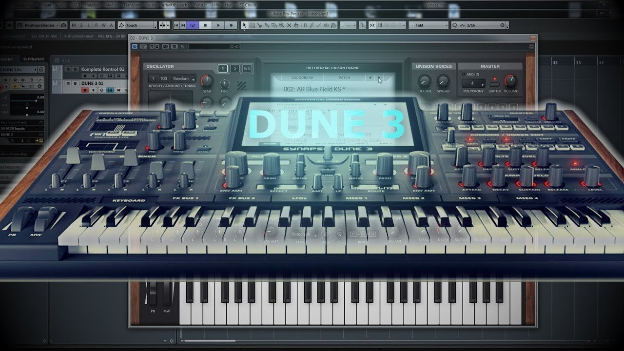 Synapse Audio Dune 3 Crack plus Mac