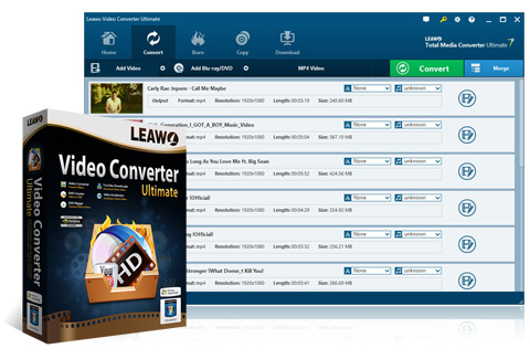 Leawo Video Converter Ultimate 8.3.0.0 Crack