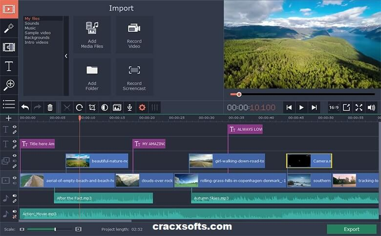 Movavi Video Editor 20 Activation Key