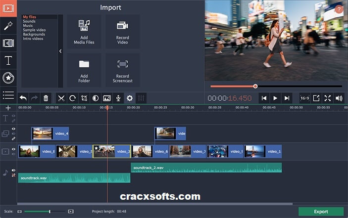 Movavi Video Editor 20.3.0 Crack Plus Working License Key 2020