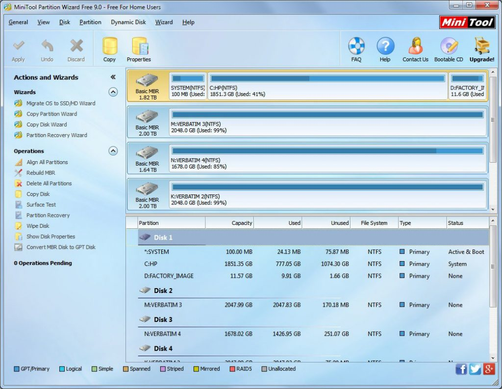 MiniTool Partition Wizard Technician 12.1 Crack + Serial Key Full Torrent 2020