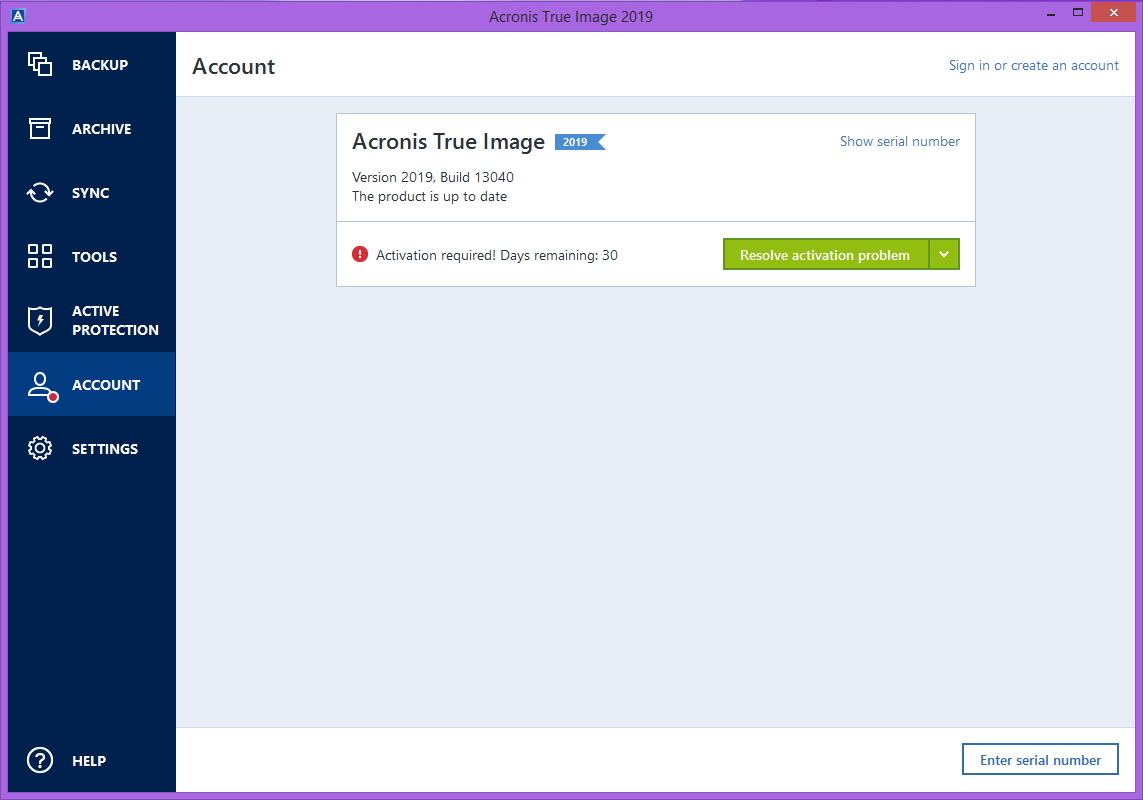 Acronis True Image 2020 Serial Key