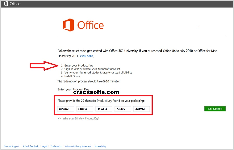 Microsoft Office 365 Product Key 2020 With Crack Free ...