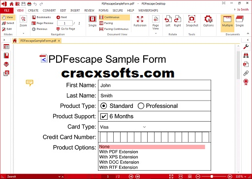 PDFescape Serial Key
