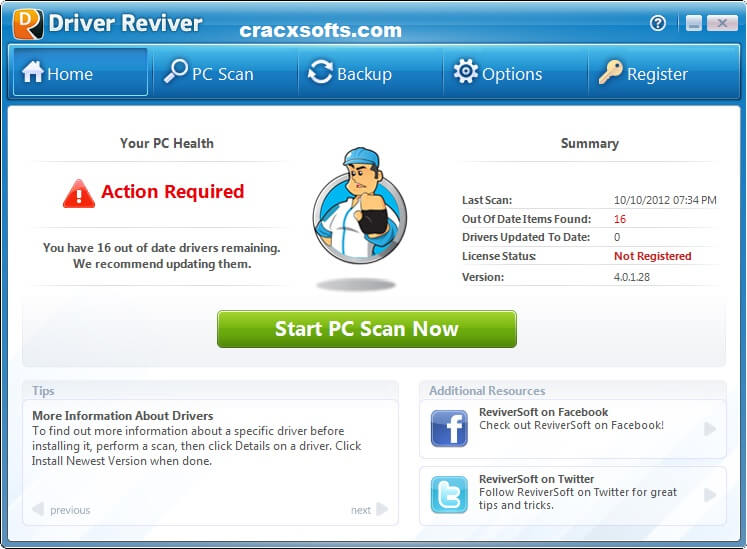 Driver Reviver 5.34.0.36 Crack With Keygen 2020